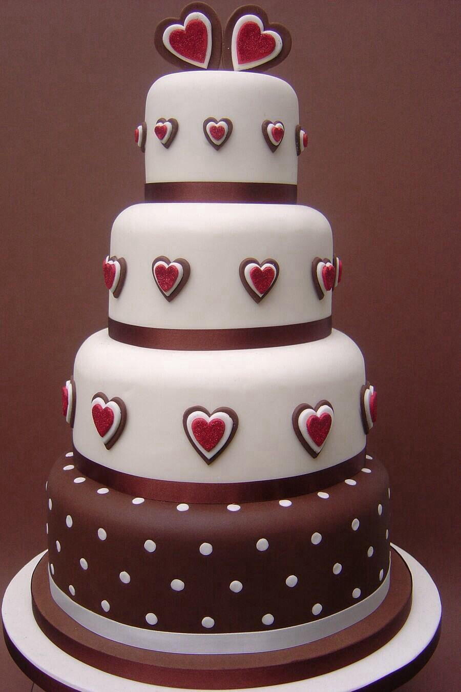The Love Cake Valentine Cake Valentines Day Cakes Wedding