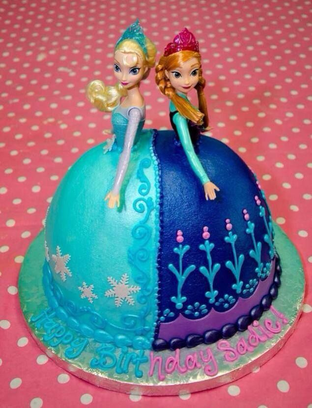 Frozen cake Cakes cakes cakes Pinterest Cake Birthdays