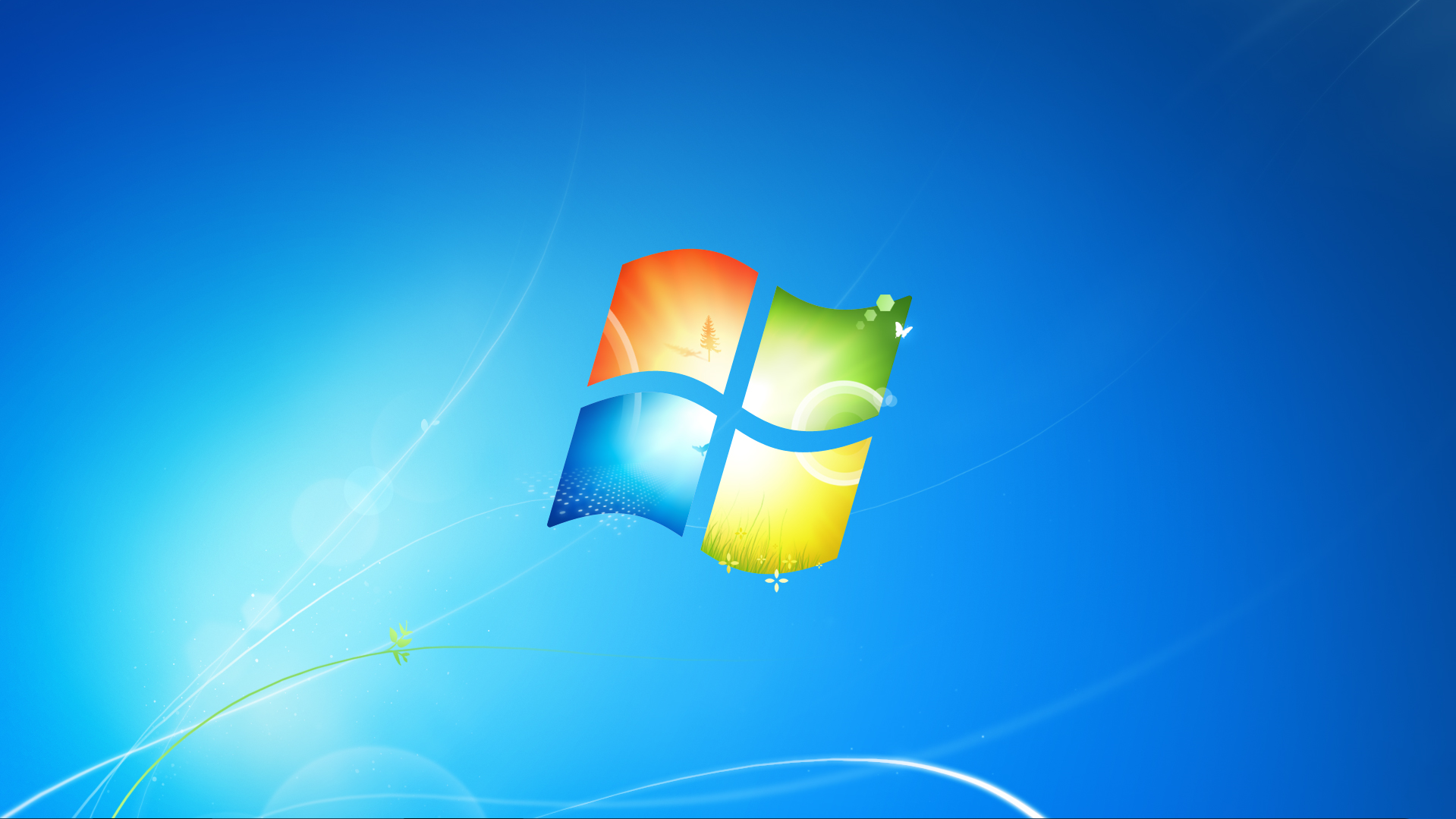 Windows 7 Default wallpaper 1920 x 1080 (With images