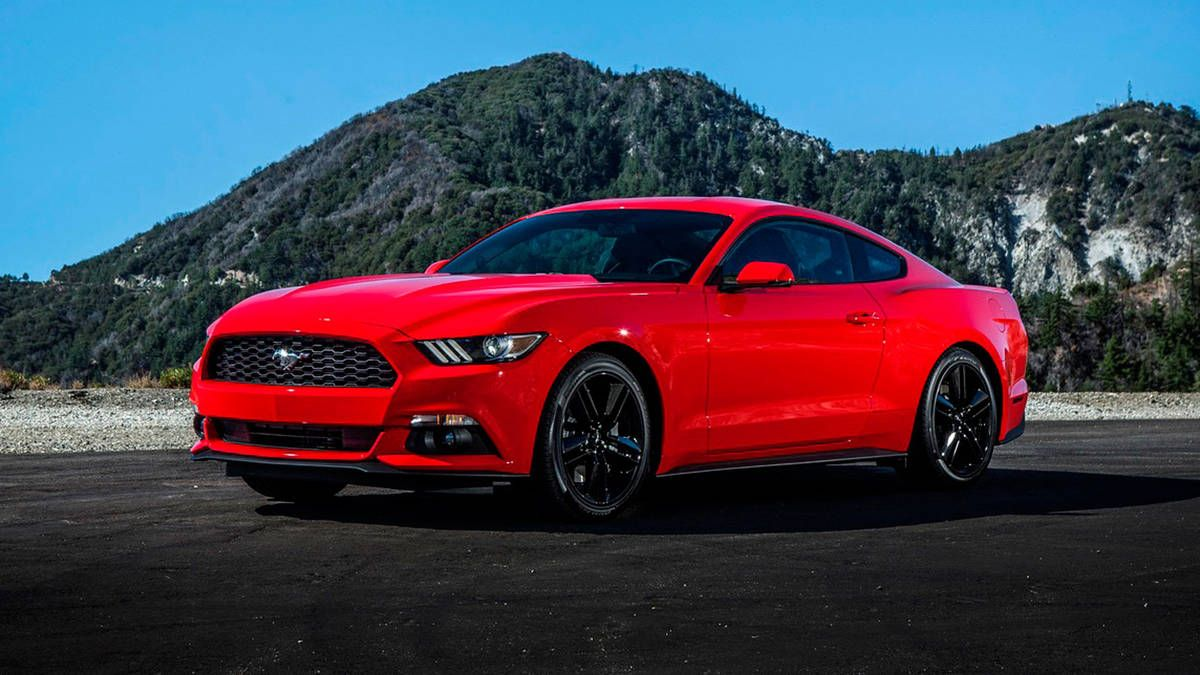 2016 Ford Mustang Ecoboost Premium In Race Red With Images