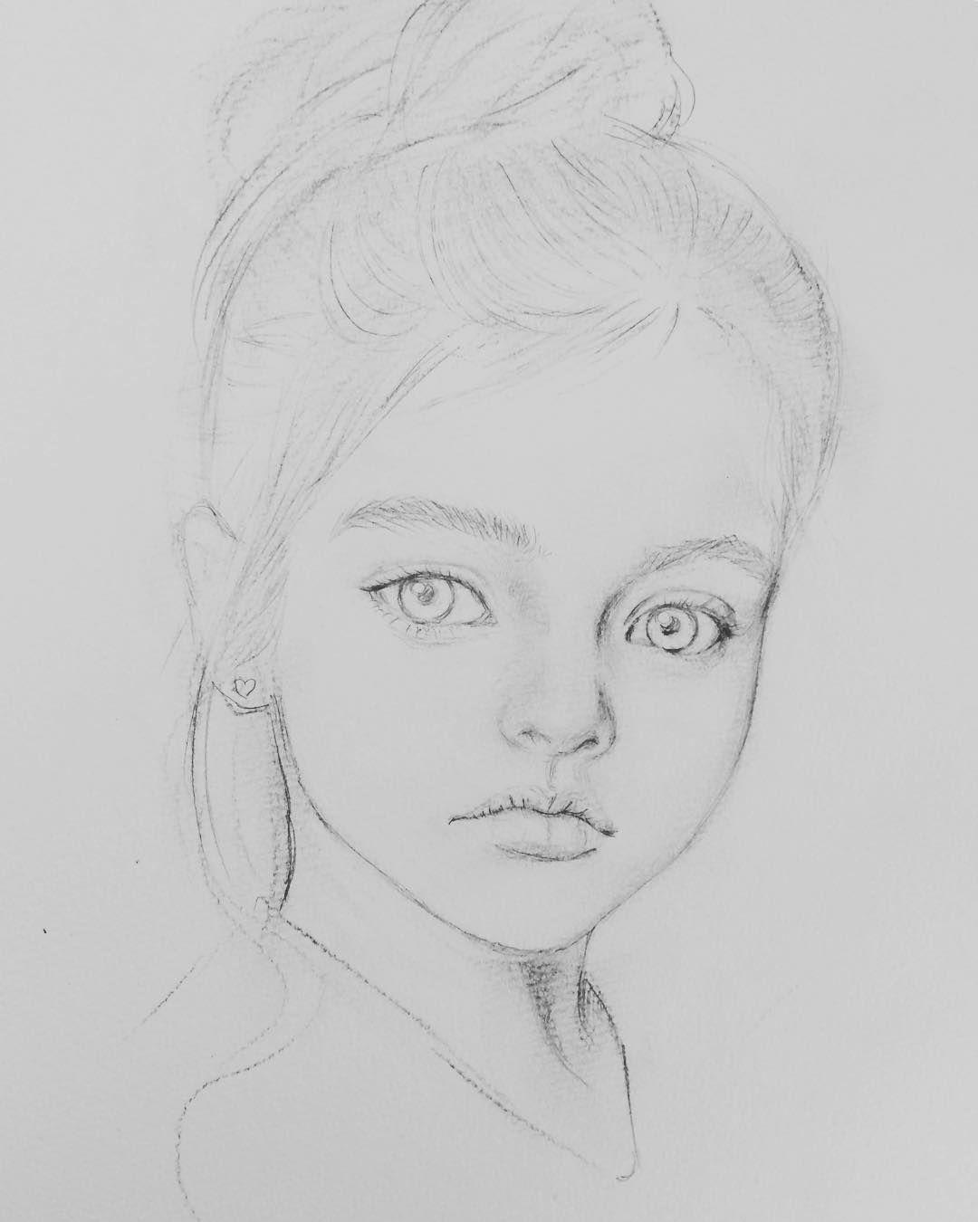Peaceful girl
