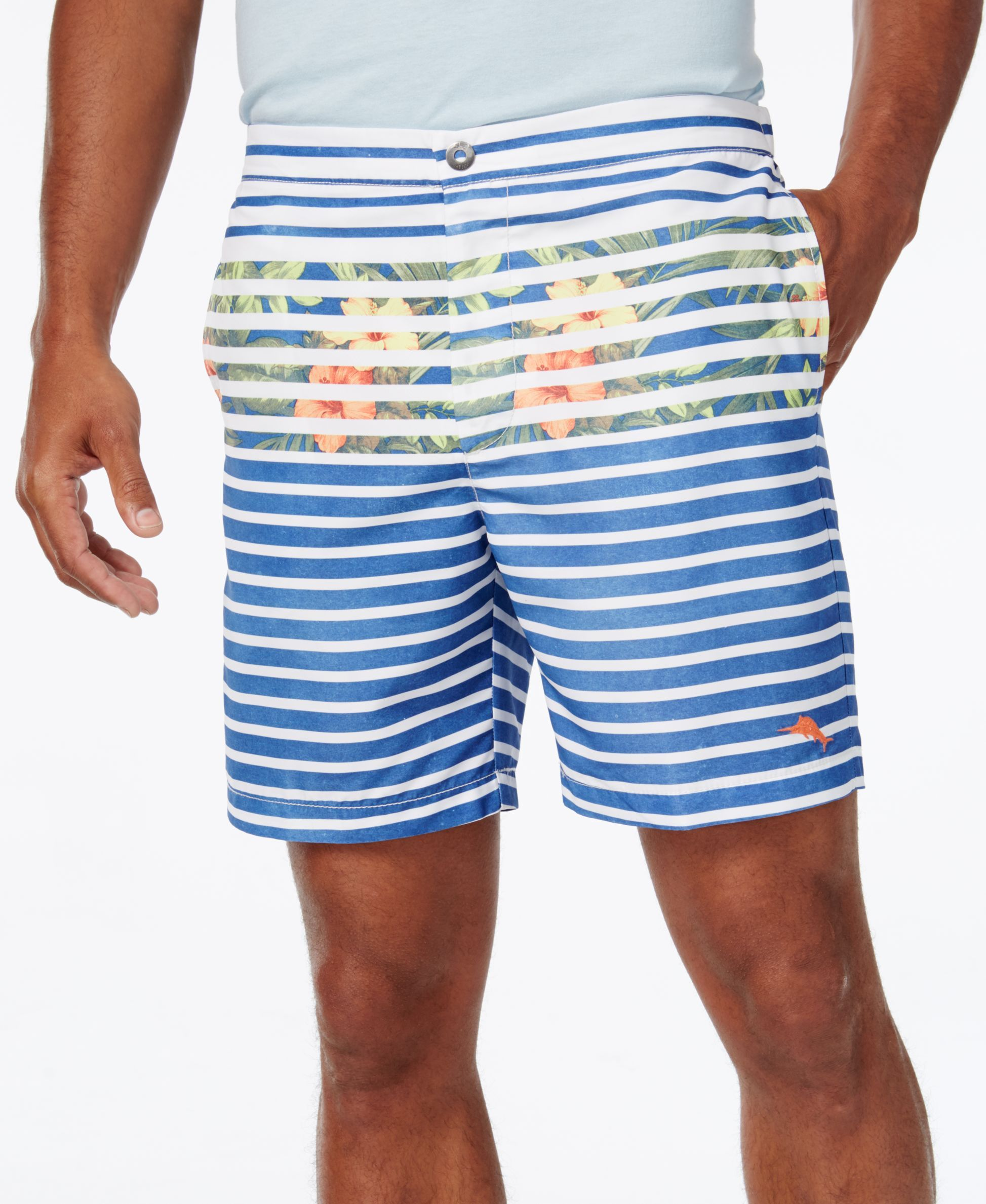 7d44a3bc5ed026 Tommy Bahama Men's Coast Breton Blooms Swim Trunks | Men clothing ...