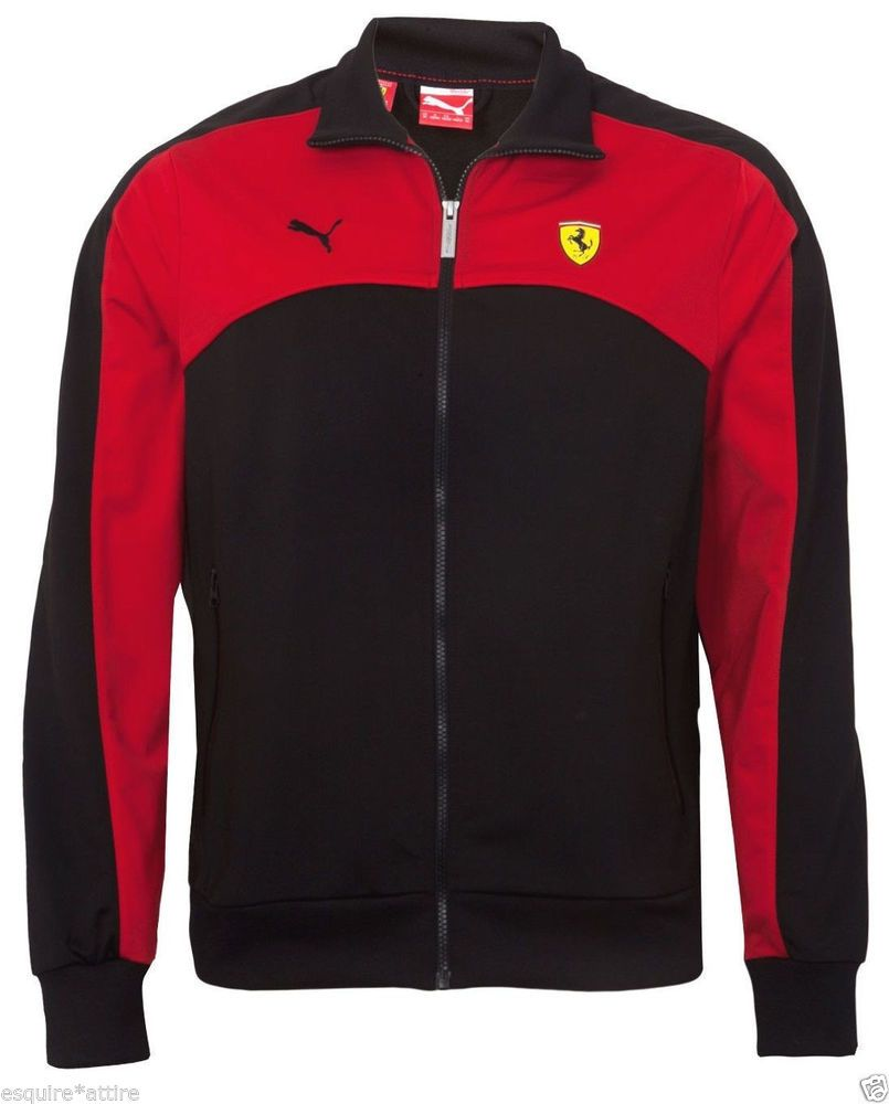 newest 0f3f5 3349a PUMA Ferrari Motorsport Track Jacket Men Size M Scuderia Ferrari Racing   PUMA  CoatsJackets