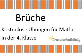Einführung und Kennenlernen der Welt der Brüche in Mathe in der 4 ...