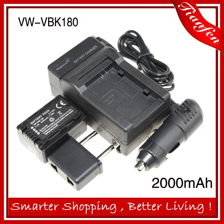 $24.69 (Buy here: https://alitems.com/g/1e8d114494ebda23ff8b16525dc3e8/?i=5&ulp=https%3A%2F%2Fwww.aliexpress.com%2Fitem%2F3-6v-2000mAh-VW-VBK180-VW-VBK180-VWVBK180-For-Panasonic-SDR-H85-SDR-T50-SDR-S50%2F32582377645.html ) 3.6v 2000mAh VW-VBK180 VW VBK180 VWVBK180 For Panasonic SDR-H85 SDR-T50 SDR-S50 HDC-TM80 HDC-SD90+car charger+battery charger for just $24.69