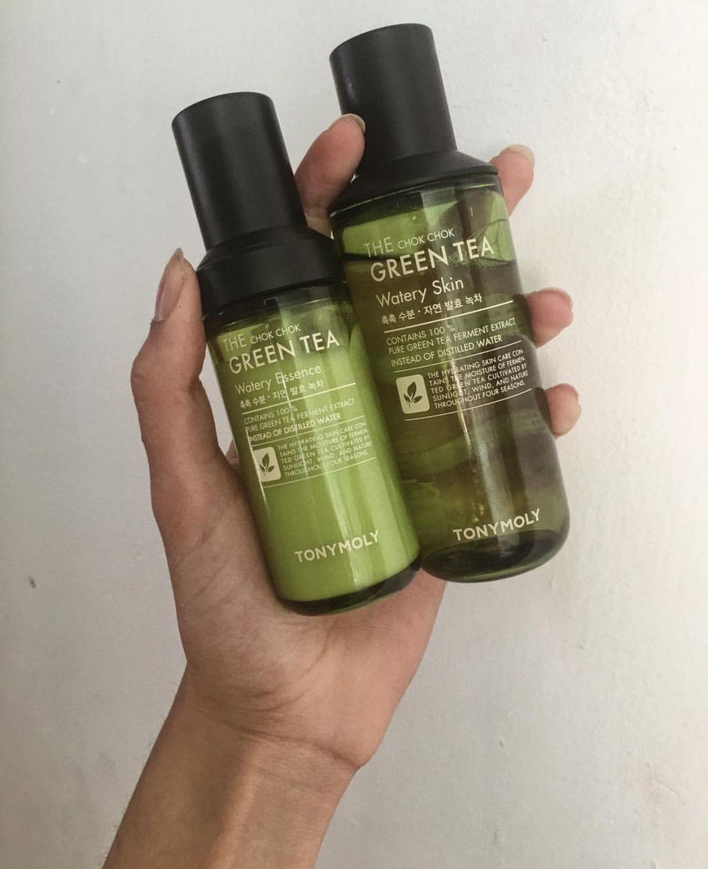 The Chok Chok Green Tea Skincare Duo Set Green Tea Diy Lips Skin Care