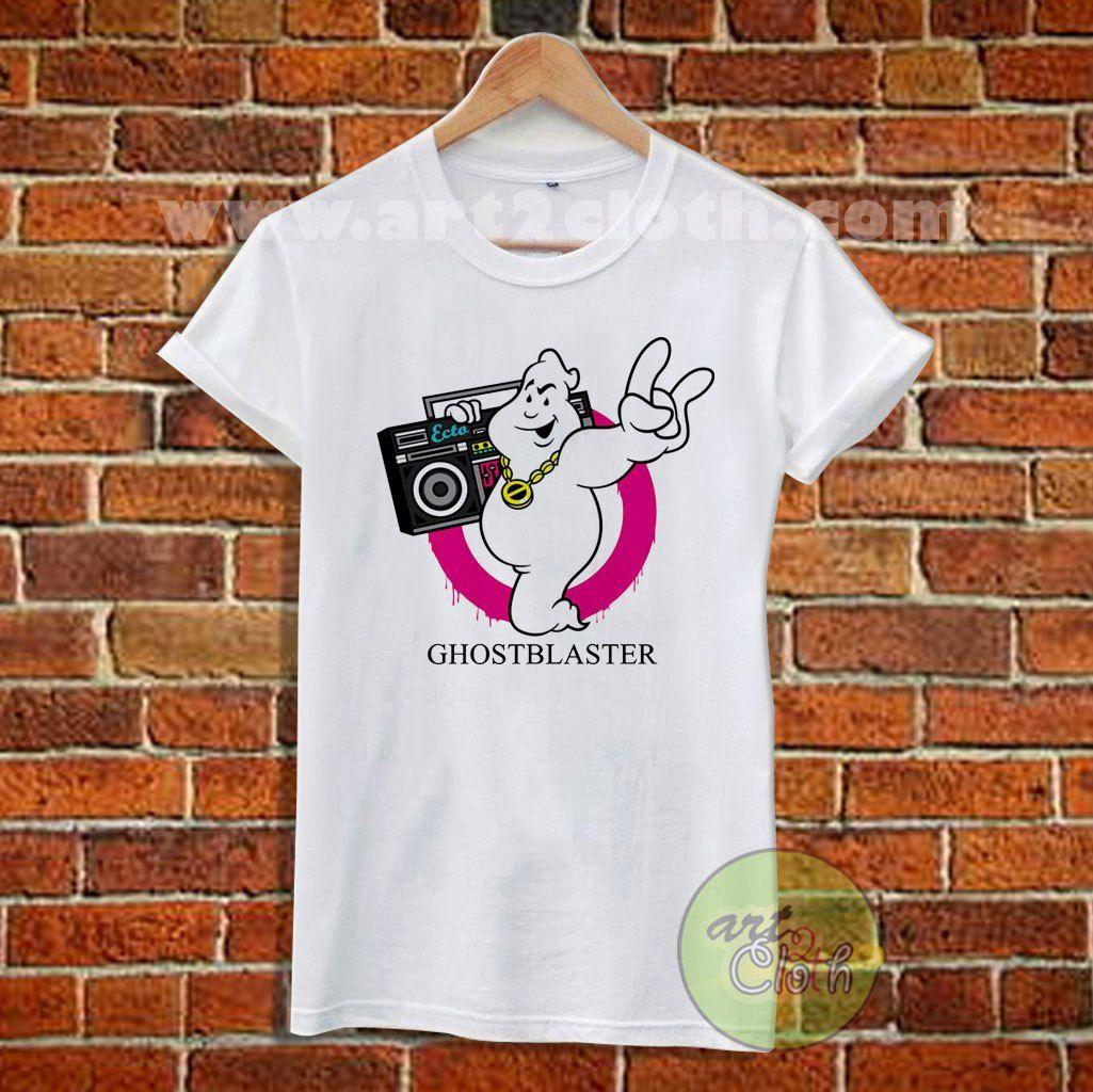 Ghostblaster T Shirt Size XS,S,M,L,XL,2XL,3XL