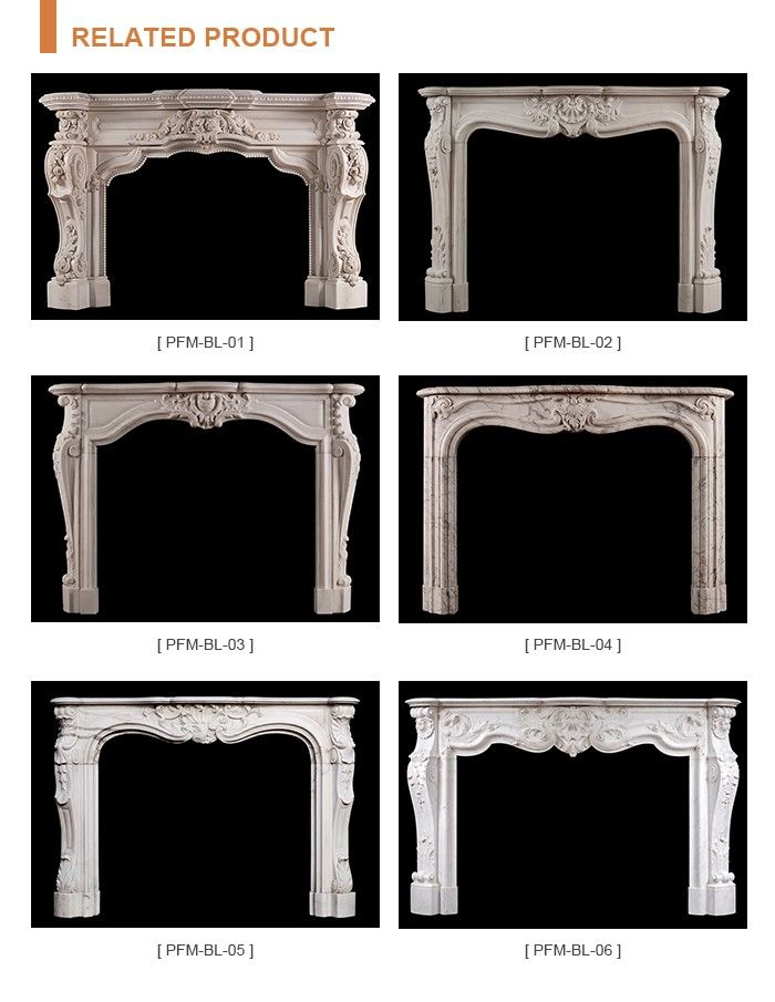3 Home Decor Trends For Spring Brittany Stager: Carved Indoor White Marble Fireplace, View White Marble