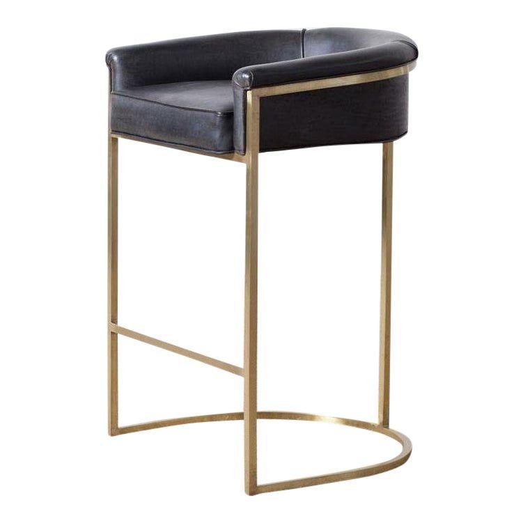 Hollywood Regency Claudio Brass Barstool Bar Stools Hollywood Regency Dining Room Chairs Ikea