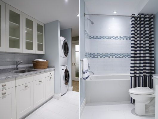 23 most popular small basement ideas decor and remodel for Basement bathroom laundry room ideas