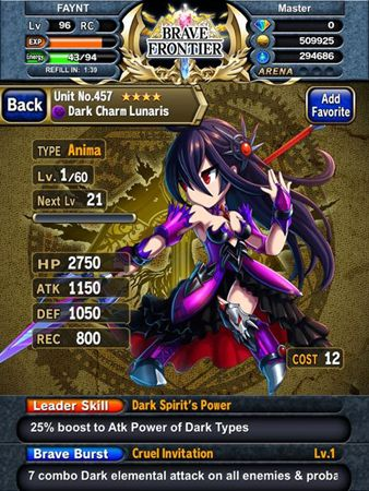 Onrpg S Mobile Theme Is Finally Live We Re Celebrating By Taking A Look At One Of The Hottest Rpg Games On The Mobile Market Br Brave Frontier Brave Frontier