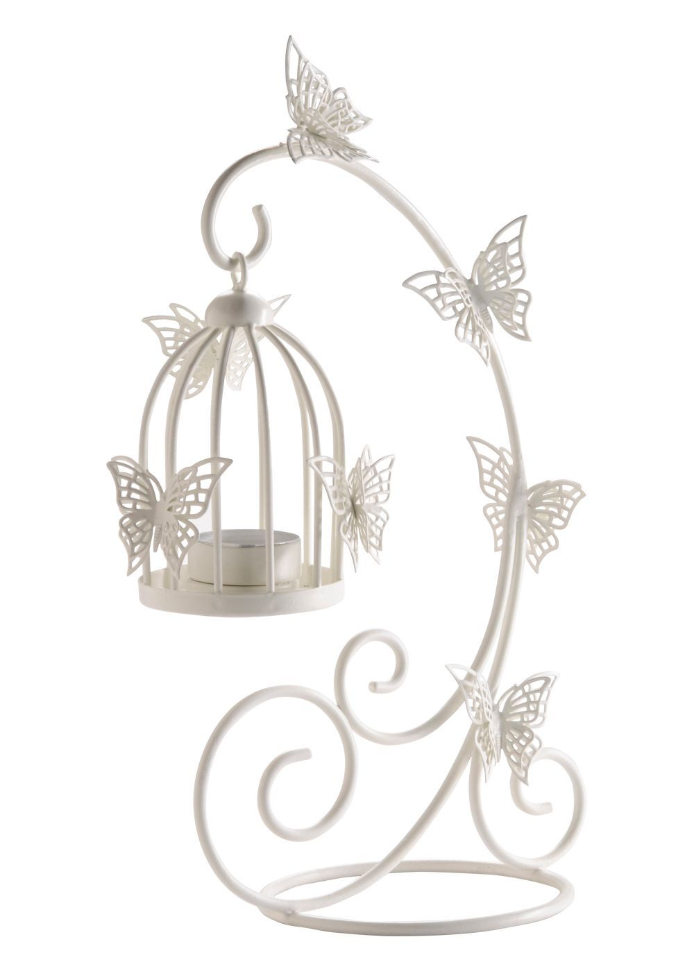 Matalan - Vintage Wire Hanging Birdcage | Home is Where the Art Is ...