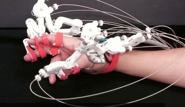 Ut Hand Exoskeleton 3d Printed Cable Driven Exoskeleton For