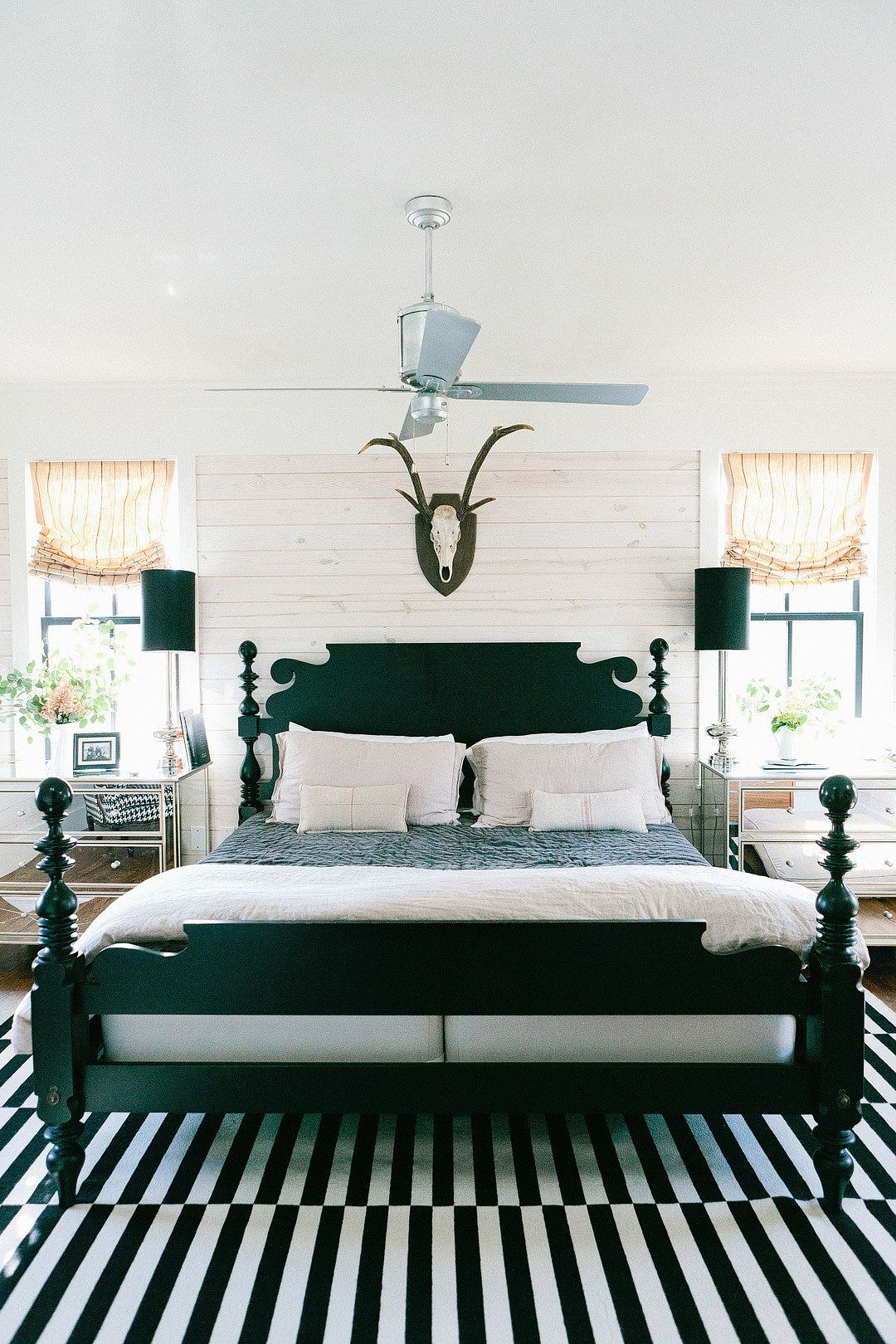 Collection Eclectic Farmhouse Tour Antlers Bedrooms