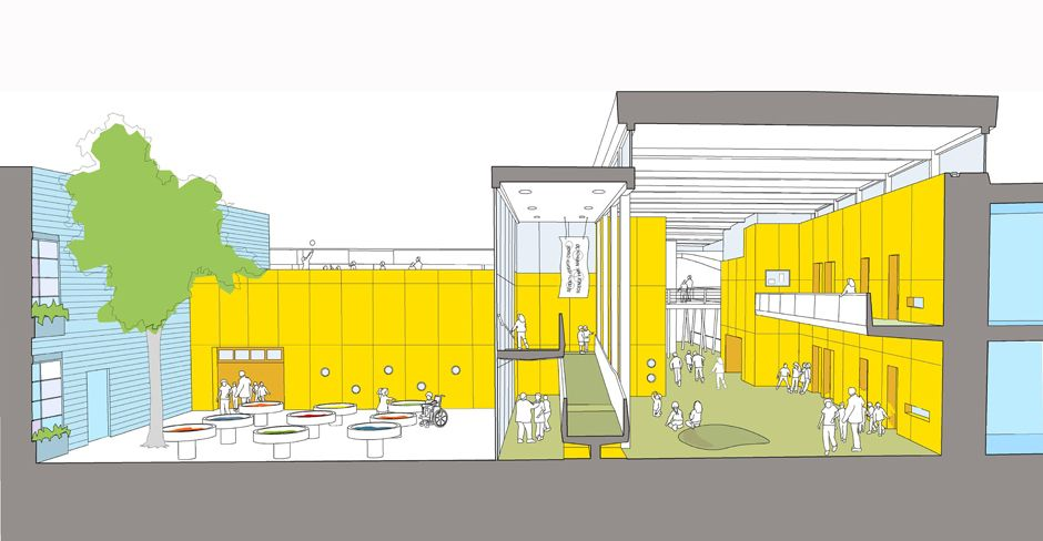 Chicago Public Schools Design Competition (Phase One Winning Entry)    Lubrano Ciavarra Architects
