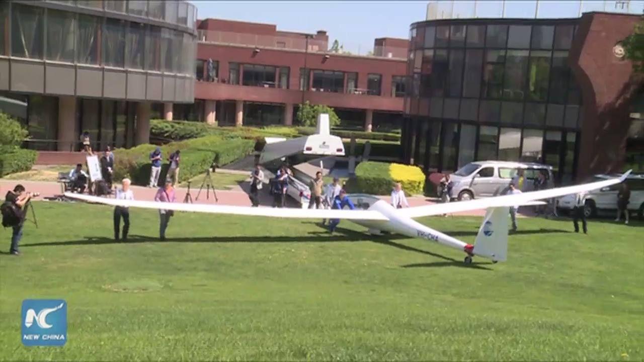 Video: First Schempp-Hirth Arcus glider assembled in China for historic flight. #soaring https://youtu.be/7ZSRlbFMGX4