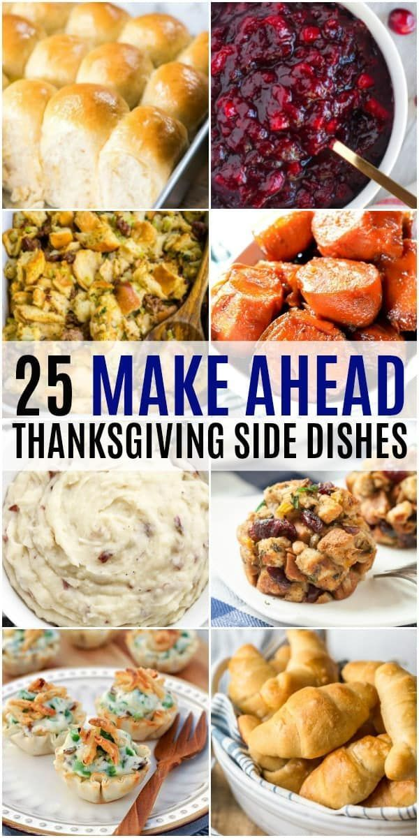 25 Make Head Thanksgiving Side Dishes