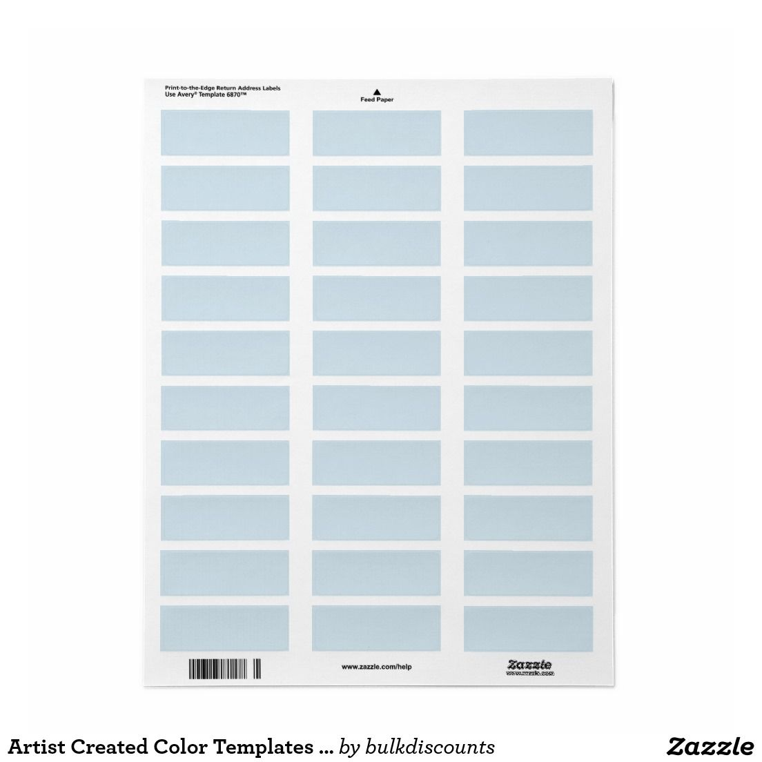 Artist Created Color Templates Labels Stickers | Colors, Ps and ...