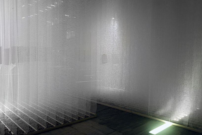 deve build architecture layers woven fiberglass labyrinth in shenzhen