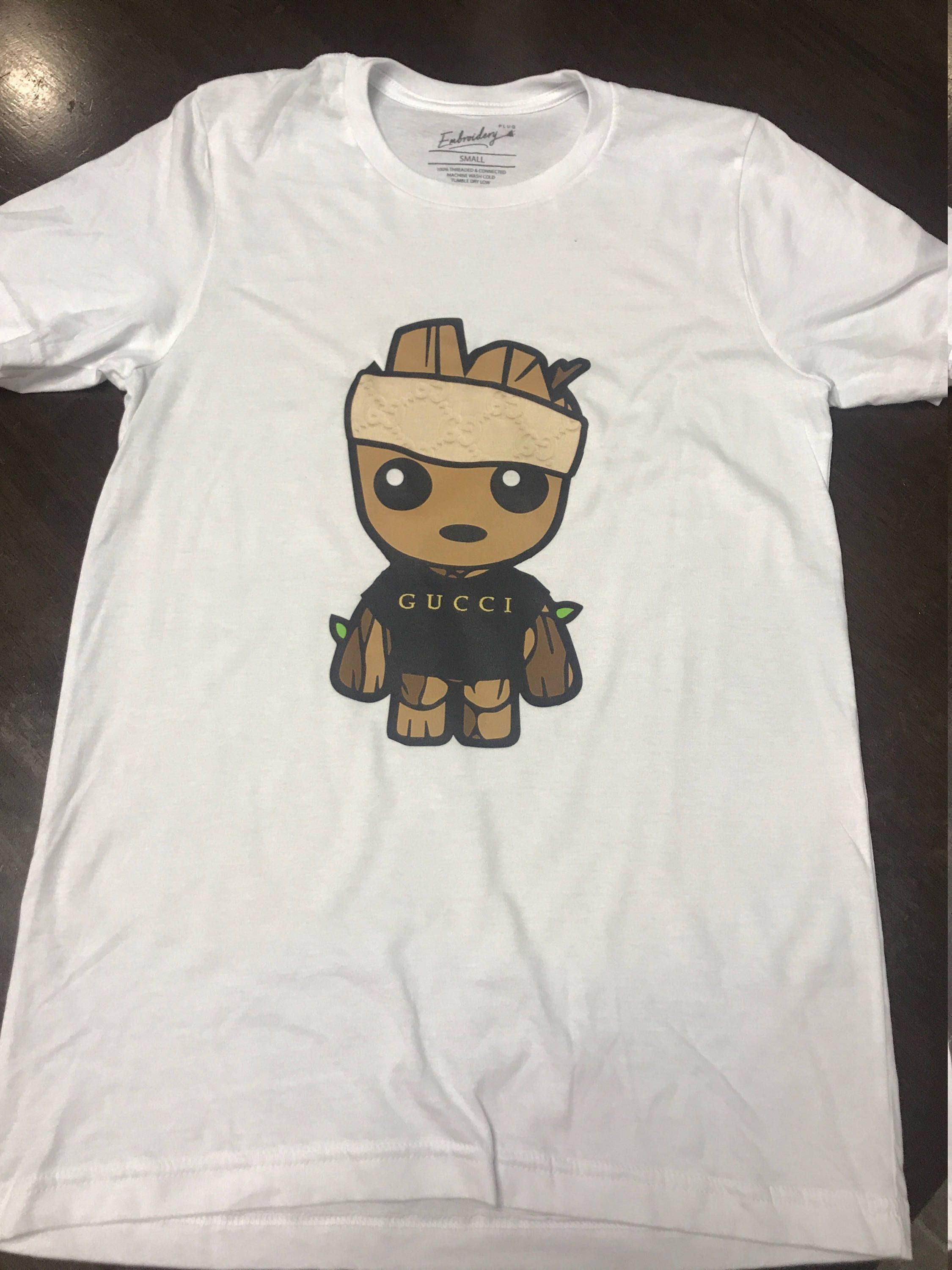 2fe69e85d77e83 Baby Groot Gucci Shirt   Baby Groot Gucci Tee   Baby Groot T-Shirt by  HarterDesignimages on Etsy