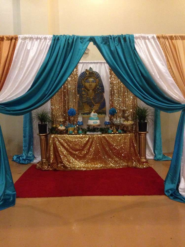 Egyptian Baby Shower Party Ideas