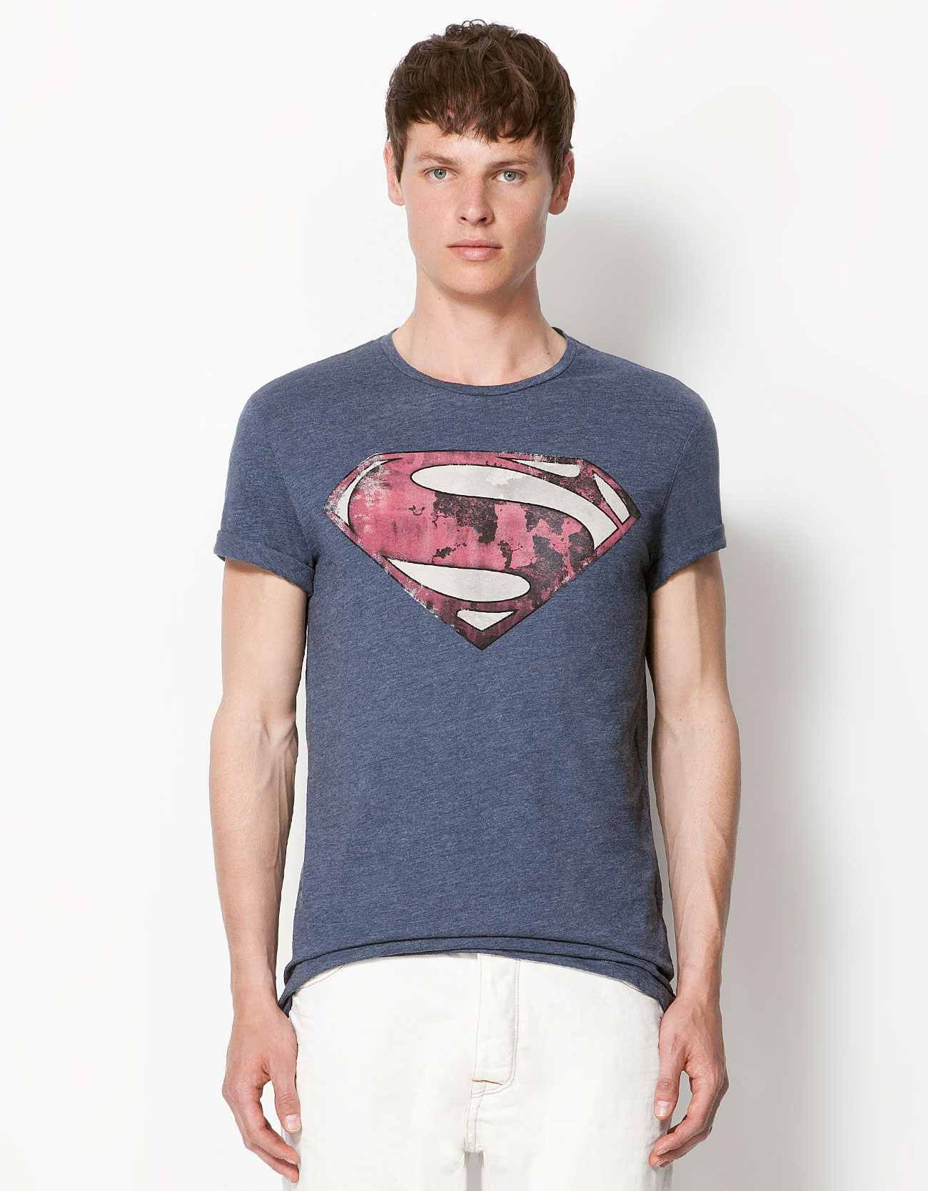 00162e32a9 SUPERMAN' T-shirt ... Bershka | Yeah, I'll wear that! — Yuccie ...