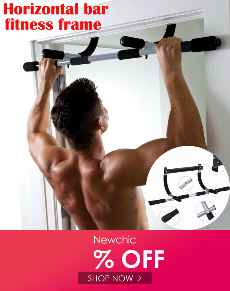 Us 49 99 Pull Up Bars Home Fitness Horizontal Pull Ups Gym Upper Body Workout Bar On The Doorway Wall Indoor In 2020 Bar Workout Upper Body Workout Fitness Body