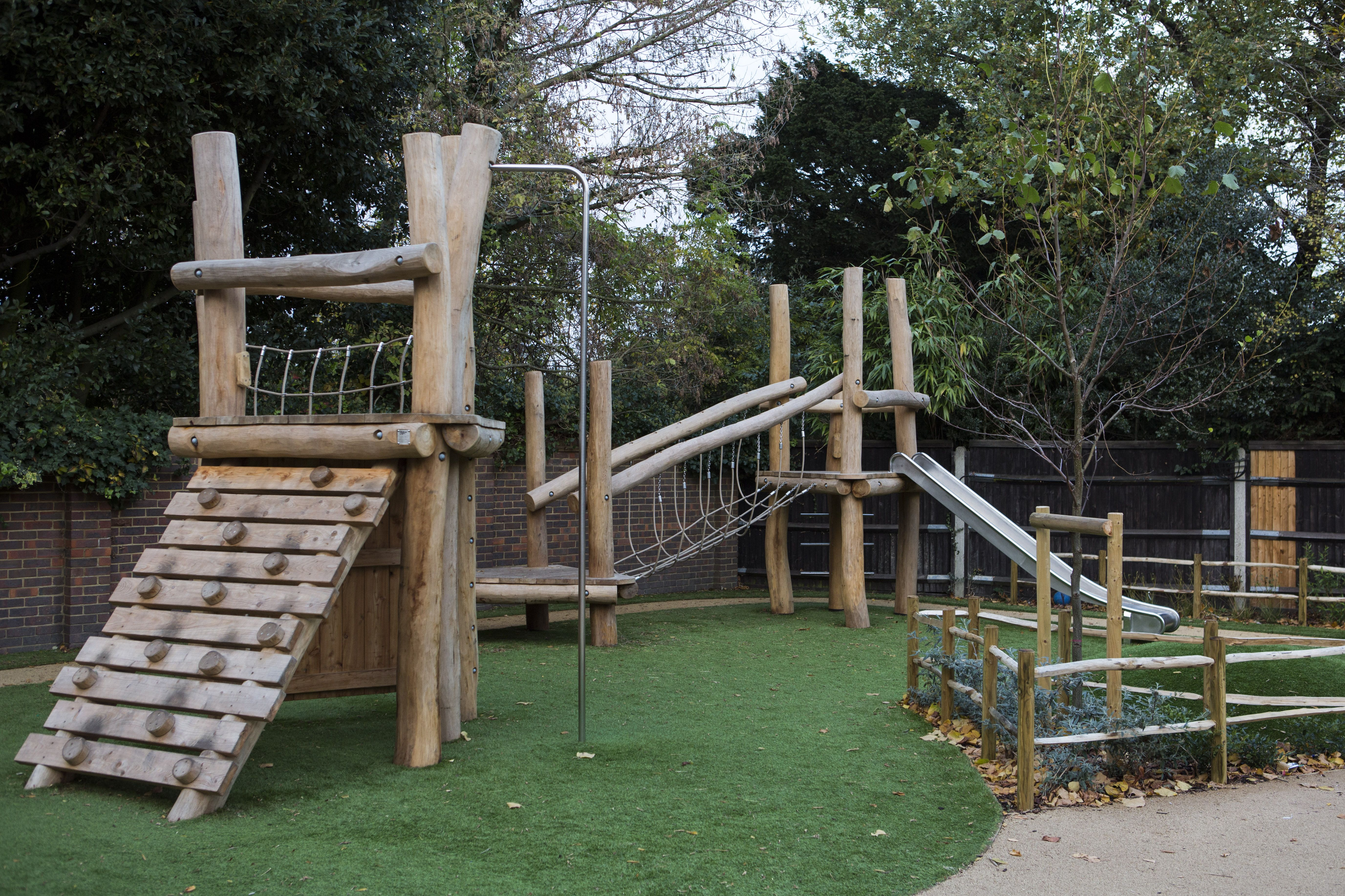 Bespoke Childrens Playground | Robinia Climbing Frame | Pinterest ...