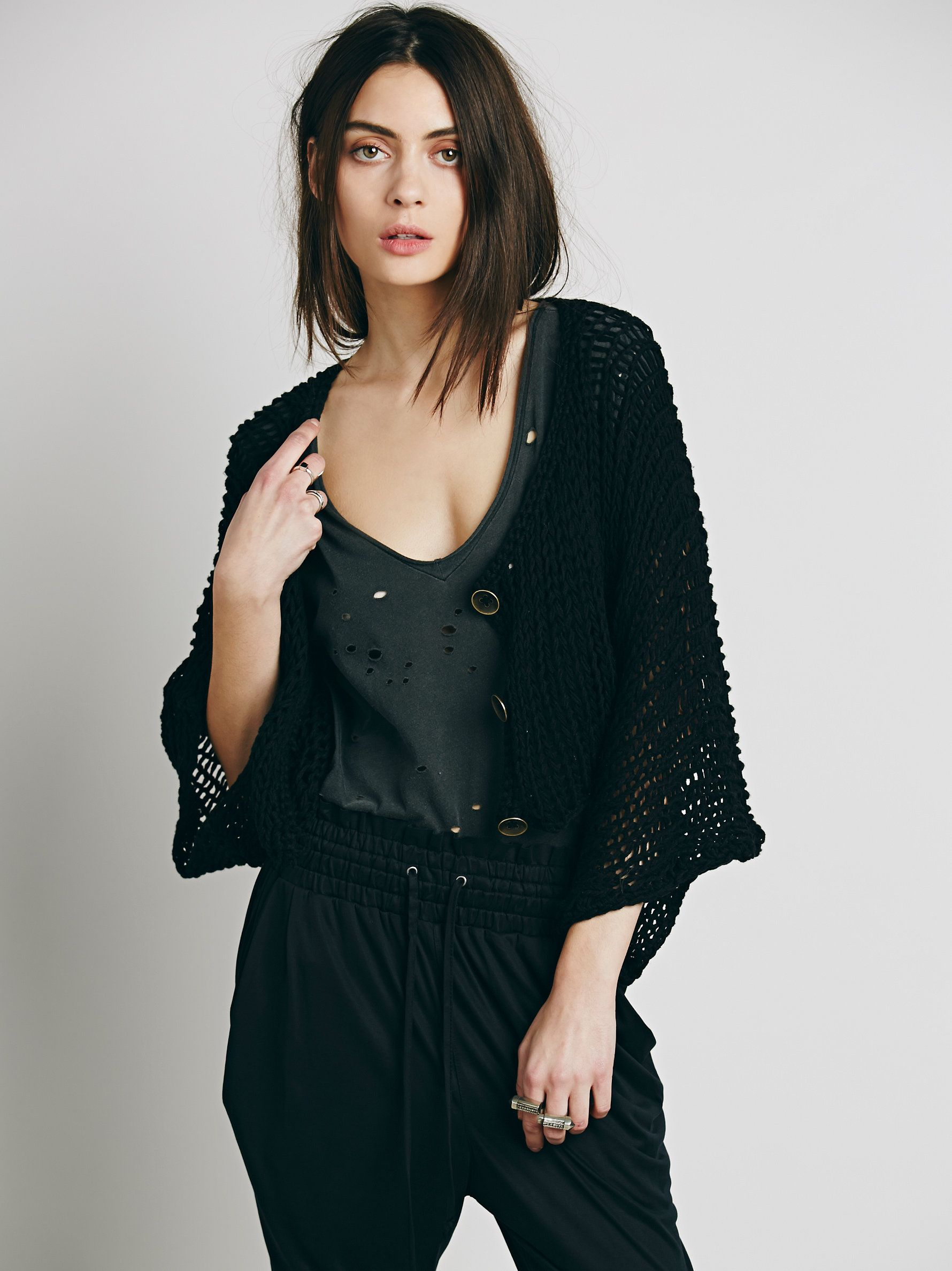 Free People Free Love Shrug at Free People Clothing Boutique