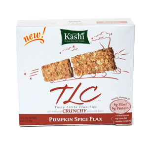 I'm learning all about Kashi TLC Bar Crunchy Granola at