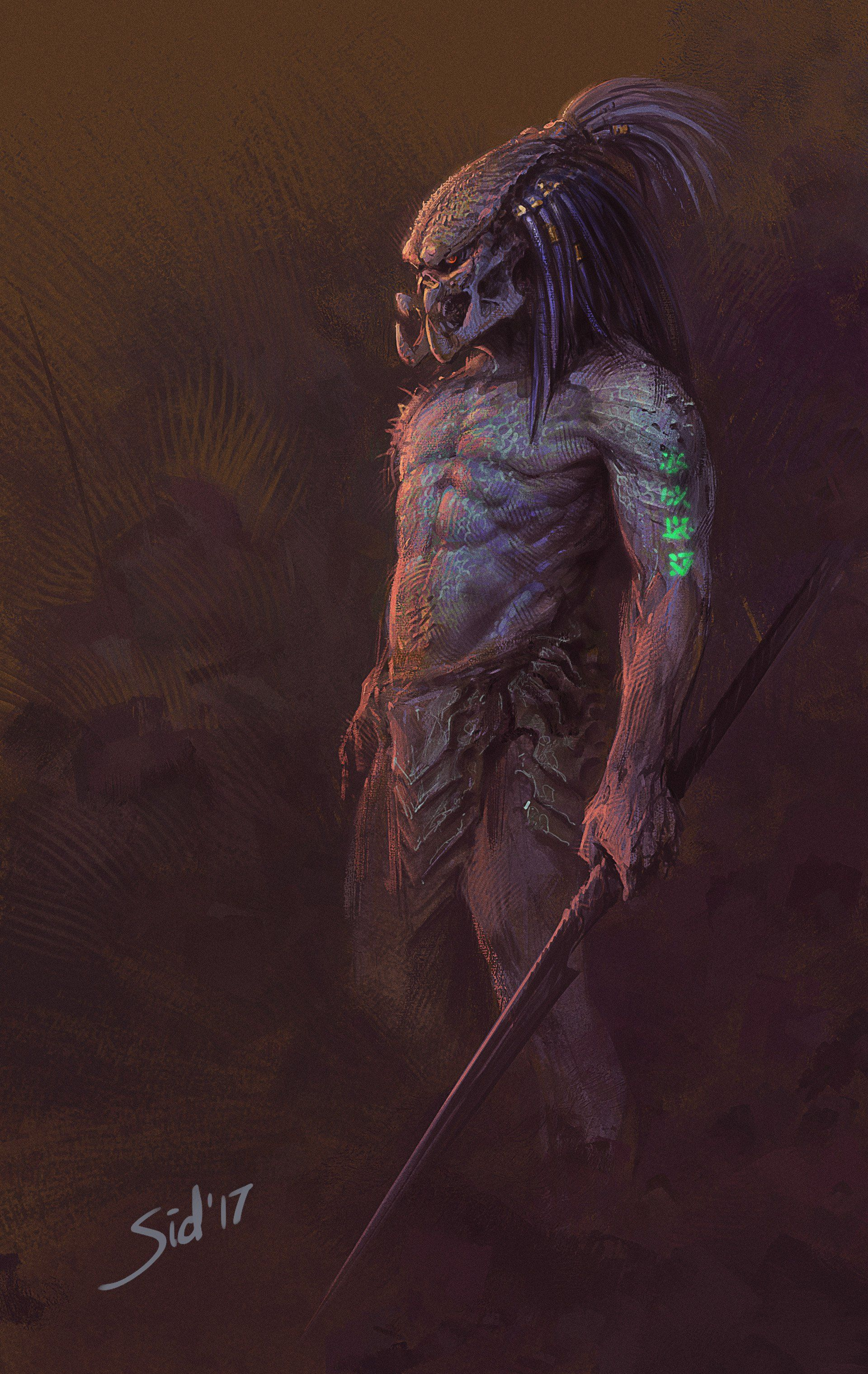 51 Deadliest Predator Tattoo Designs Ideas For Men: Predator Movie, Predator Alien Art