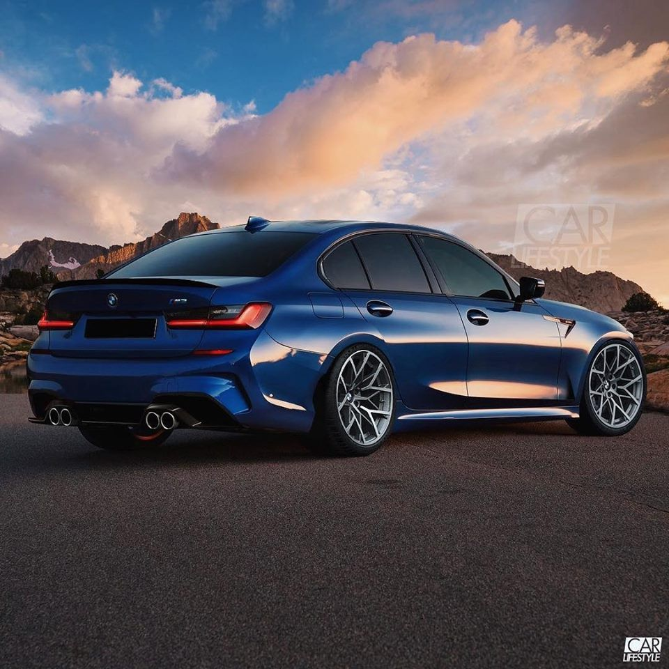 2020 Bmw M3 Rendered Looks Good For A First Effort Bmw M3 Bmw