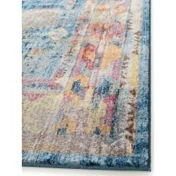 Photo of benuta Trends Teppich Tara Multicolor/Blau 240×300 cm – Vintage Teppich im Used-Look