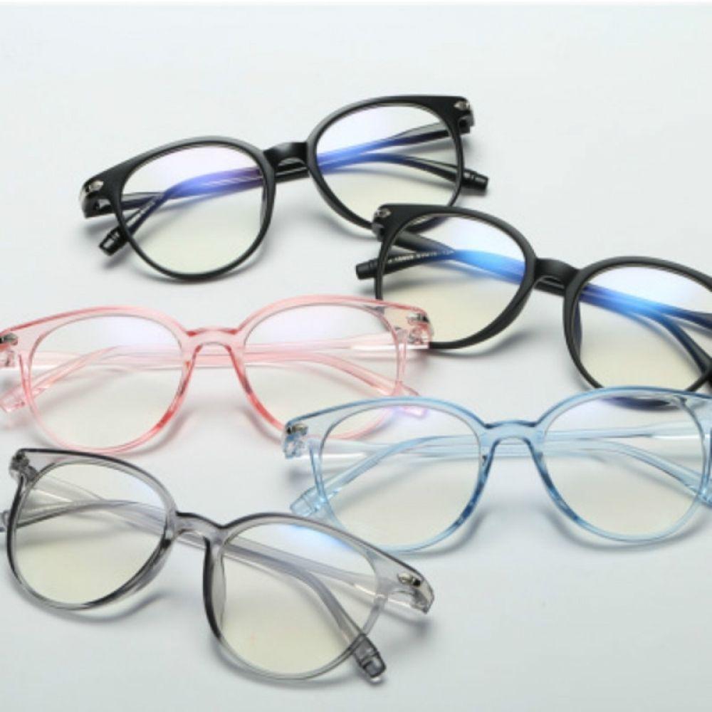 Photo of Rote Bohne 2018 Mode Frauen Brillenrahmen Männer Brillenrahmen Vintage runde klare Linsengläser Optischer Brillenrahmen