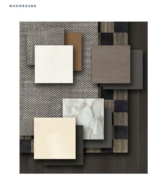 Inspirational materials and finishes moodboards discover - Materials needed for interior design ...