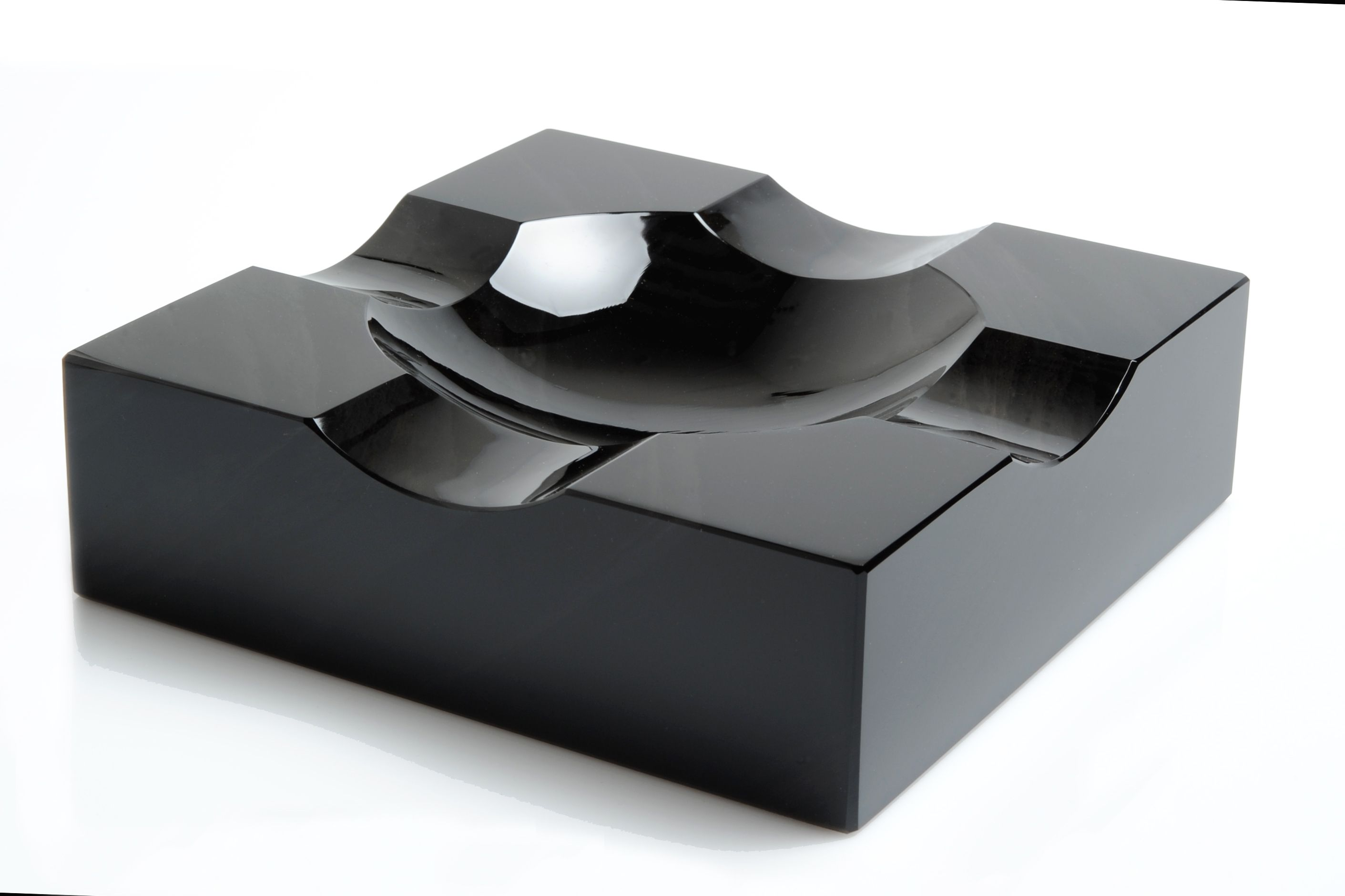 Norvan Exceptional Cigar Ashtray Made In Obsidian From Ararat Mount 190 X 190 X 60 Mm Cigar Ashtray Cigar Accessories Cigar Room