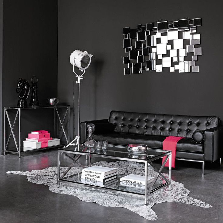 Contemporary  modern style furniture and decorations Maisons du