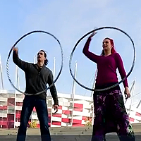 RurzOWA and Waglewski Spin Hooping on Polish Television: http://www.hooping.org/2013/01/rurzowa-and-waglewski-spin-hooping-on-polish-television/