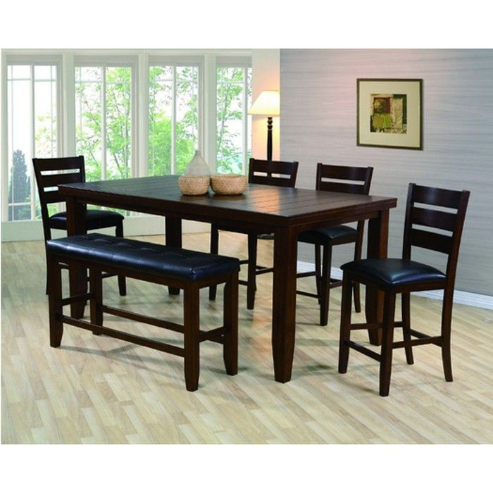 Kingston Dining Counter Height Table 4 Chairs 2752 High