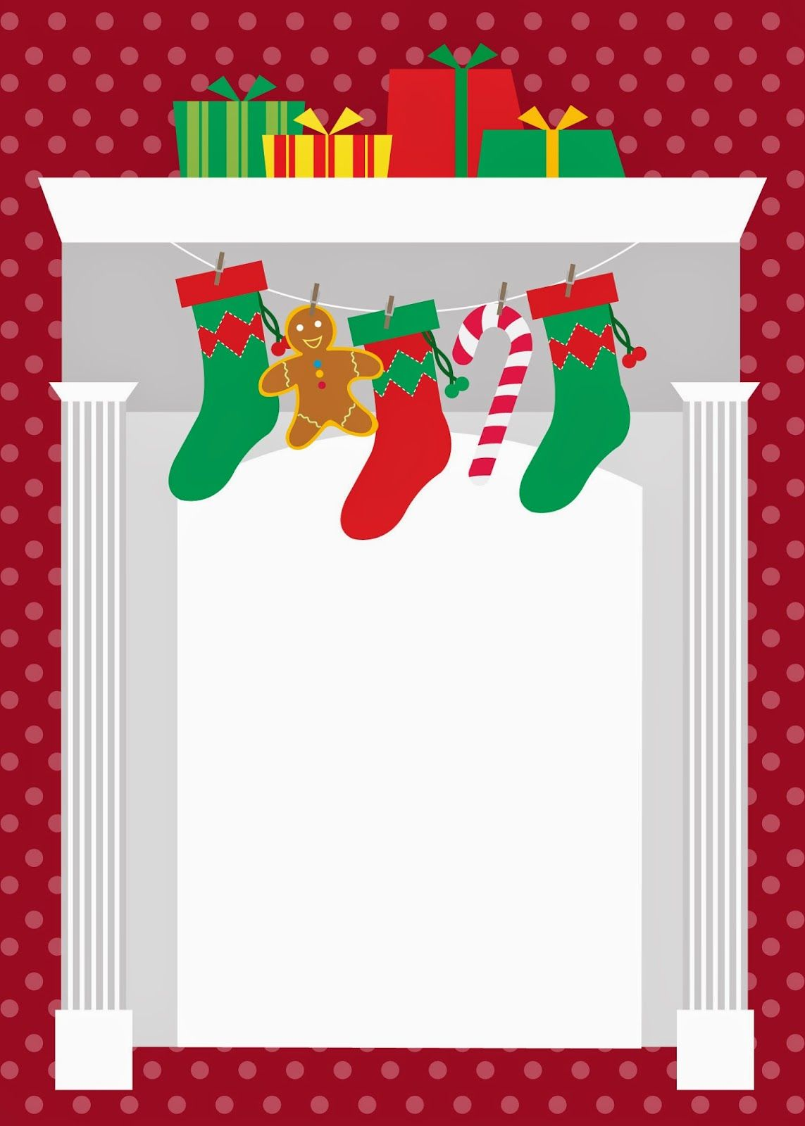 Cartões De Natal Para Editar Printables Decoupage Christmas