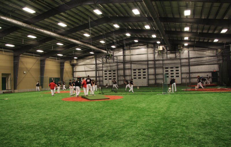 Image Gallery Indoor Baseball Field Sports Training Facility Baseball Training Facility