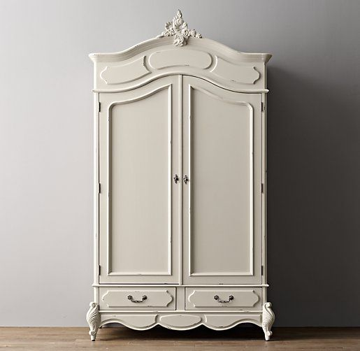 Marielle Armoire with Wood Doors & Marielle Armoire with Wood Doors | F U R N I T U R E | Pinterest ...