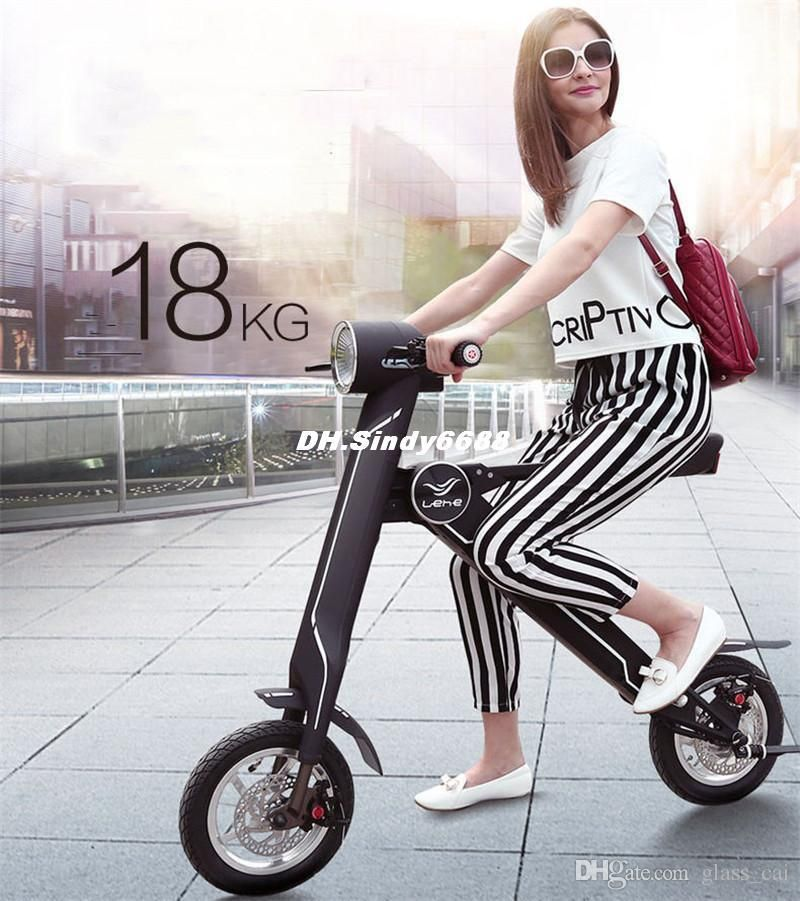 30km Foldable Electric Scooter Folding Electric Bicycle