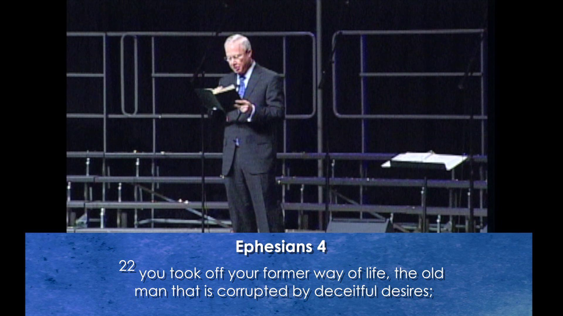 February 1, 2015 - Getting Rid of The Old Man (Ephesians 4:17-24)