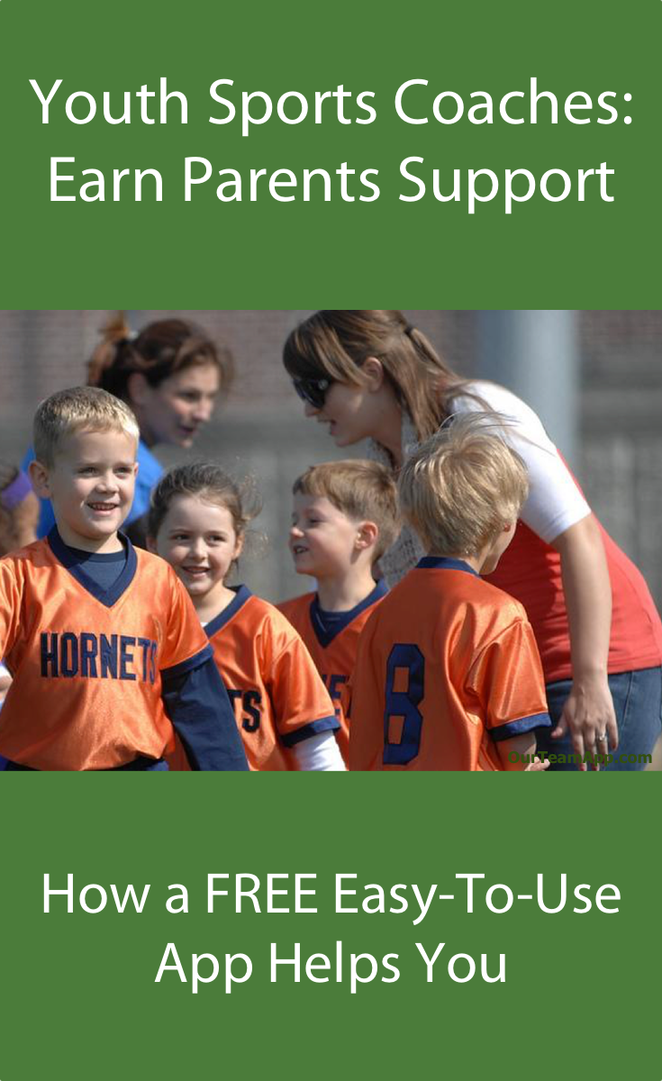 Youth Baseball Coaches Free Easy To Use Mobile App Helps You Earn Parents Support Click The Link Image To Grab It Now With Images Youth Sports Youth Sports Parents
