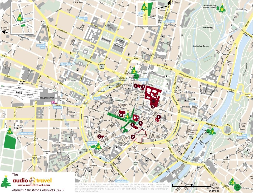 Munich Christmas Market Map.Image Result For Munich Christmas Market Map Xmas Markets
