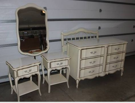 French provincial furniture - Custom painted french ...