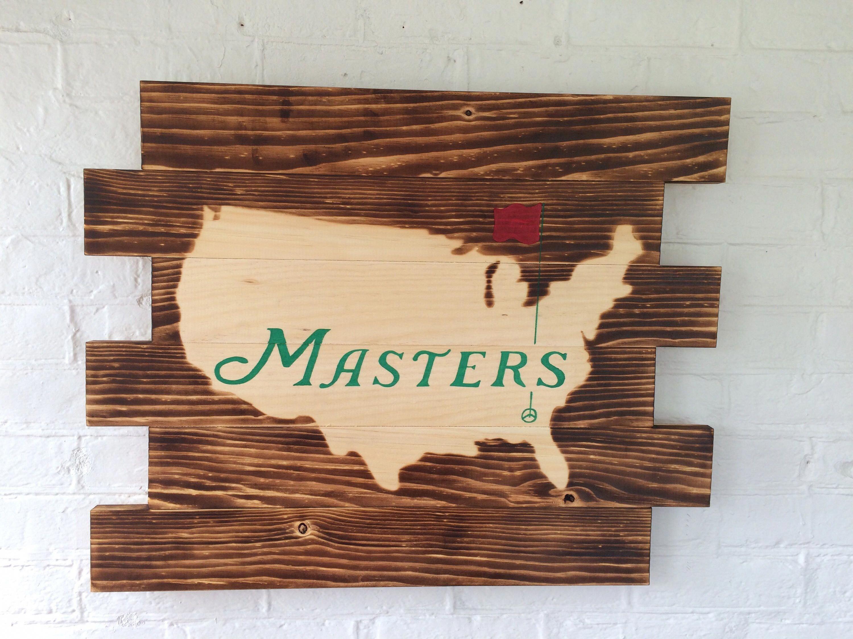 Master Golfer Origamiforall Golf Wall Decor Golf Decor Golf Tips