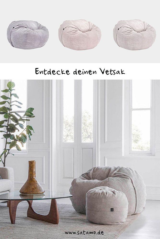 Sitzsack Cord Online Kaufen Einzigartigen Komfort Erleben Satamo Sitzsack Haus Deko Sitzen