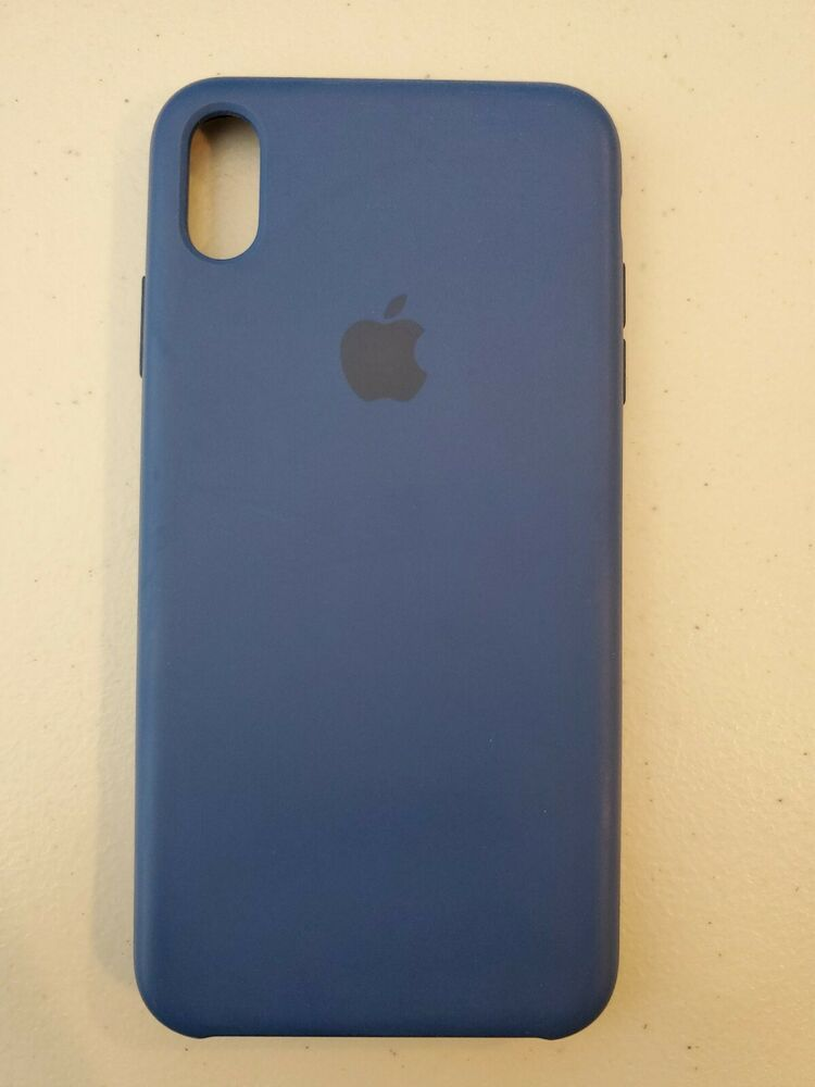 best website 23ca1 f6408 iPhone XS Max Silicone Case Blue Horizon #Apple | Ebay For Everyone ...